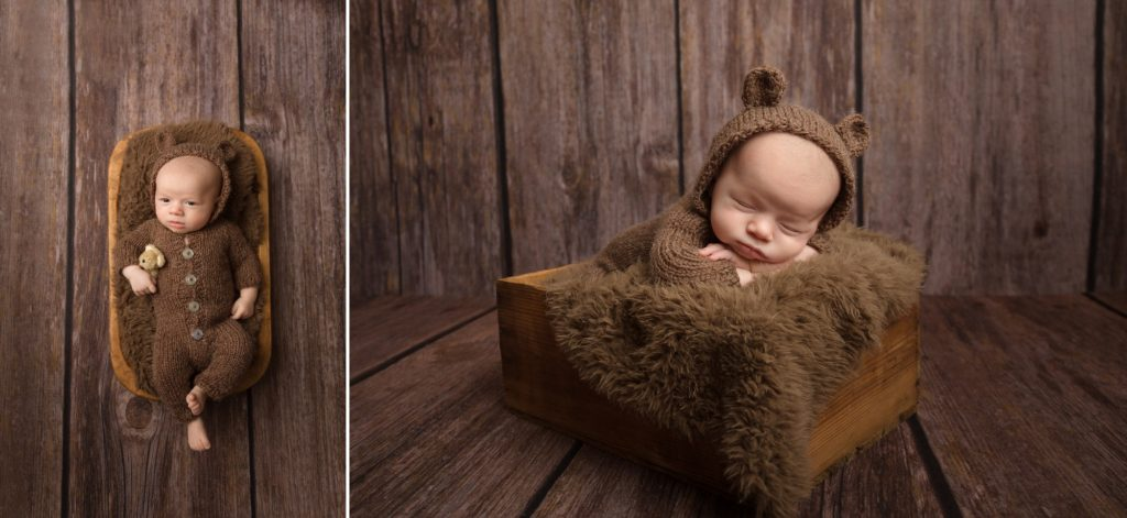 cheektowaga baby photographer, newborn, baby bear